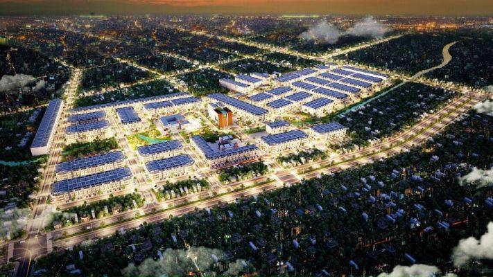 Phối canh tổng quan dự án Long Cang RiverPark