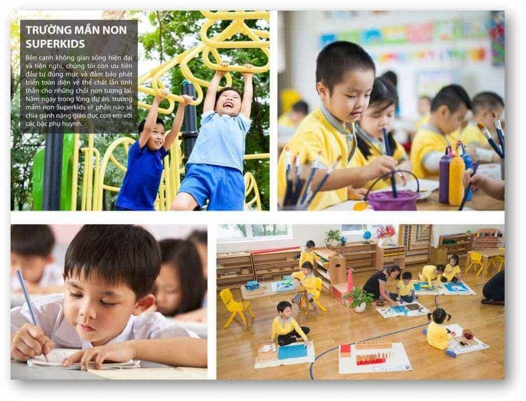 Hệ Thống giáo dục hiện đại thông minh tại Long Cang RiverPark