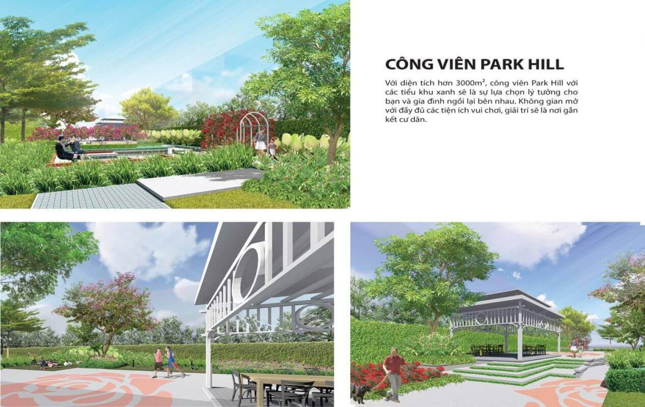 Công Viên Cây Xanh Dự Án Tây Nam Center